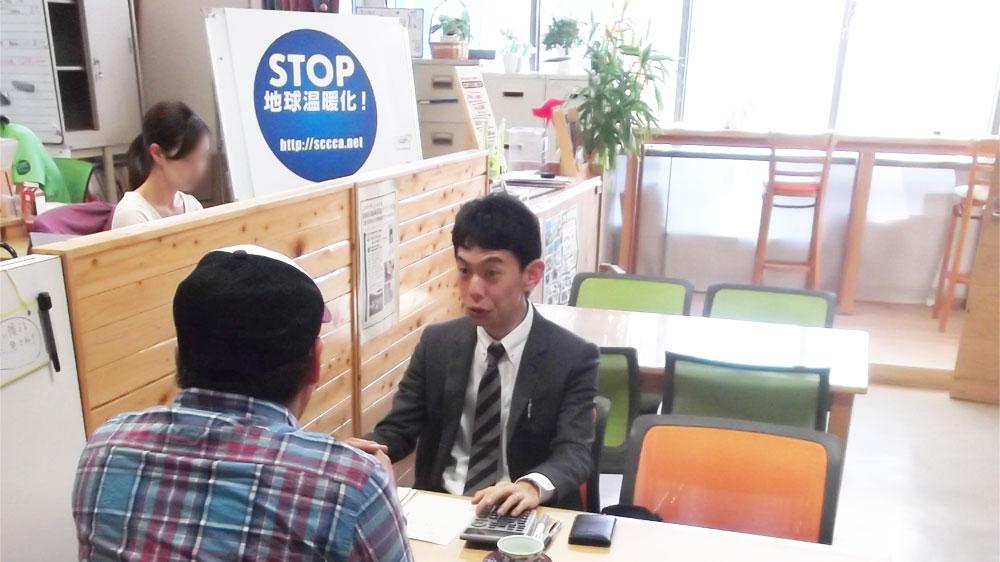 静岡県地球温暖化防止活動推進センターが開催した太陽光発電の相談会に専門家として参加しました