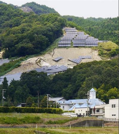 【西日本豪雨】太陽光発電所12カ所被災 1府4県 感電恐れ、注意呼び掛け|産経新聞