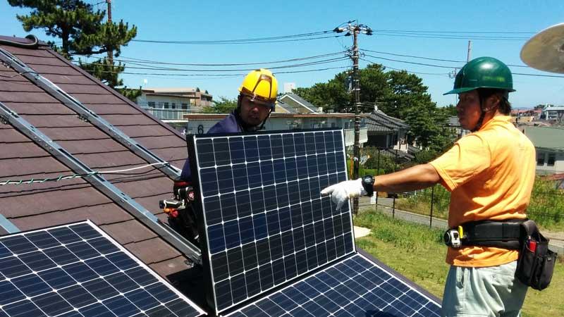 太陽光発電の現場監督