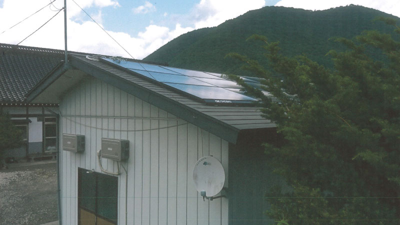 岩手県遠野市小友町で長州産業CS-274B62の太陽光発電7.39kWを設置したT.K様からのお客様の声